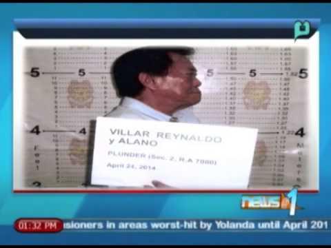 Dating chairman ng Commission on Audit na si Reynaldo Villar, nasa kustodiya na ng CIDG