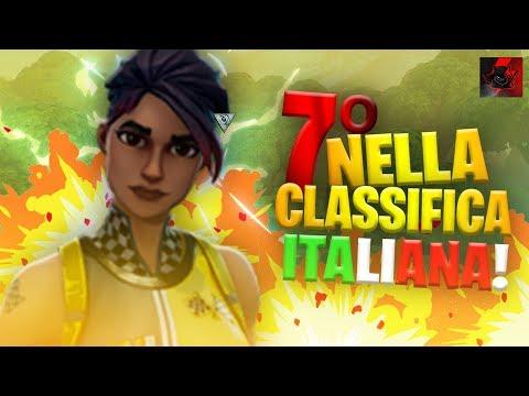 7° IN ITALIA   USO LA NUOVA TASTIERA! - Fortnite LIVE   RED Cronox