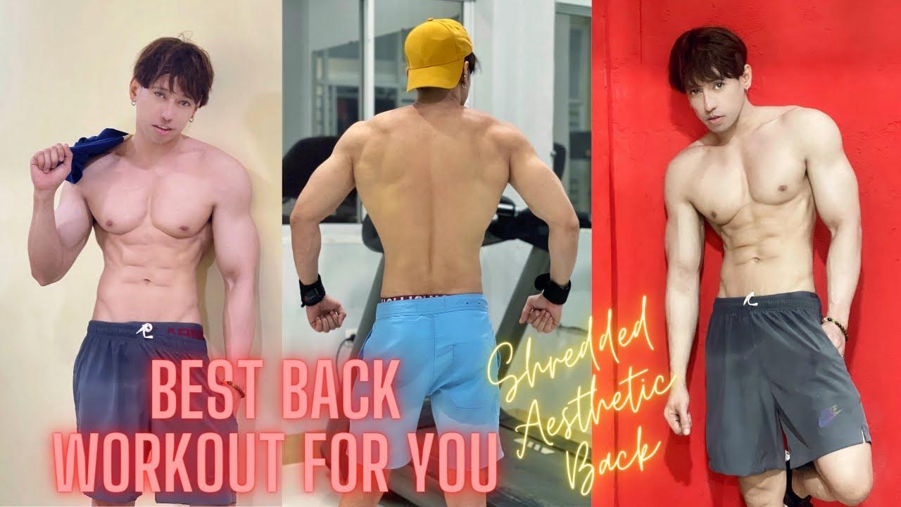 BEST BACK WORKOUT FOR YOU | Shredded Back | Keiji Matsumoto