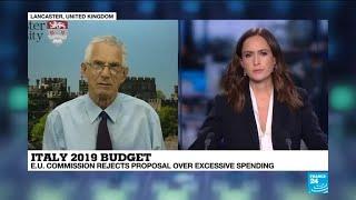 EU rejects Italy's draft budget in unprecedented rebuke
