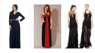 Top 100 Most beautiful black maxi dress for women