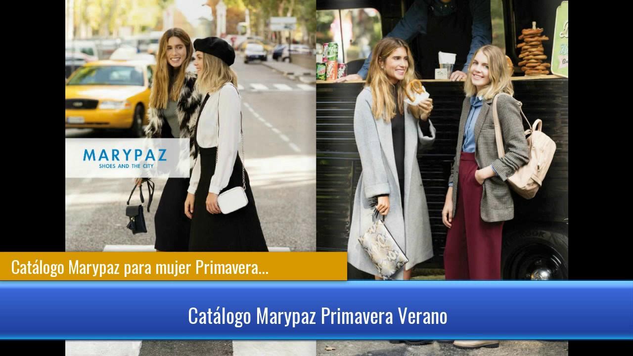 c4978b1b Catálogo Marypaz para mujer Primavera Verano 2017 - YouTube