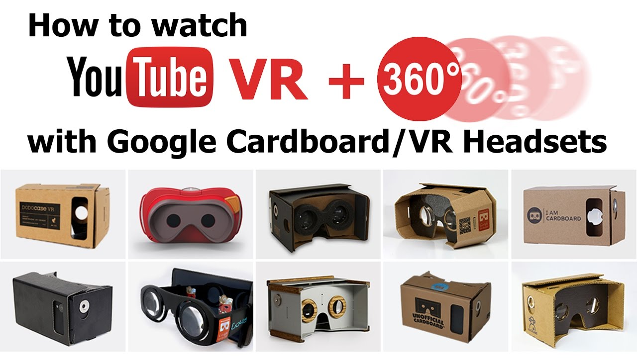 How To Watch Youtube Vr 3d Sbs Video With Google Cardboard Vr