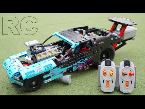 Motorcycle And Car Drift Wallpaper Lego Technic 42050 Rc Motorized Drag Racer By 뿡대디 Youtube