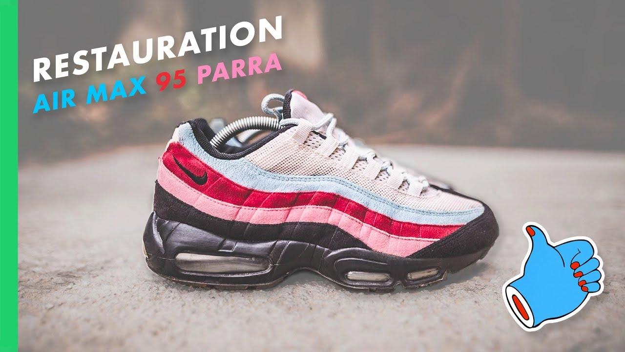 classic fit 239a0 68757 RESTAURER UNE AIR MAX 95 !   Comment Restaurer une Sneakers en  Suède Daim Nubuck !