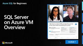 SQL Server on Azure VM Overview | Azure SQL for beginners (Ep. 4)