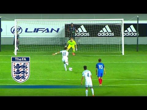 England U17 2-0 France U17 | Goals & Highlights
