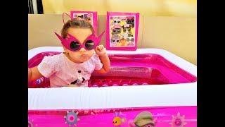 #1 ВЛОГ Новый Бассейн/ Много покупок/ Жизнь в Израиле/ Магазин игрушек/ Семейный канал