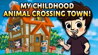 Visiting my Original Childhood Animal Crossing Town!