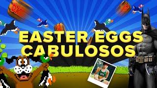 OS EASTER EGGS MAIS CABULOSOS DOS GAMES