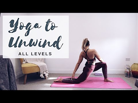 YOGA TO UNWIND | All Levels Yoga Flow | CAT MEFFAN