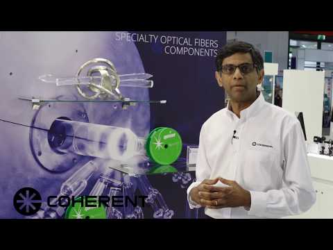 Coherent Laser Munich 2017 - Components and Specialty Optical Fibers