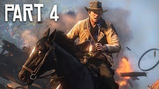 Red Dead Redemption 2 Gameplay Walkthrough, Part 4 - EXPLORING! (RDR 2 PS4 Pro Gameplay)