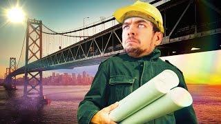 BUILD A BRIDGE AND GET OVER IT | Bridge Constructor