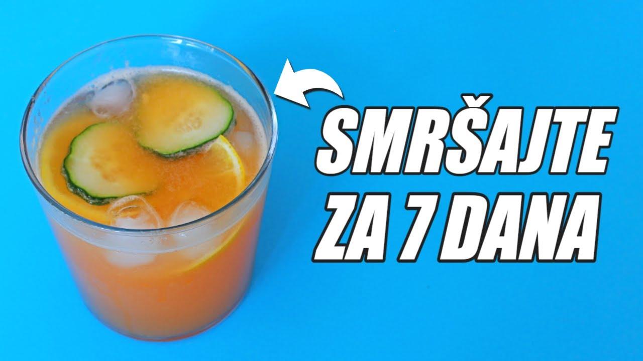 Napitak za brzo mršavljenje - Pijte SAMO 2 čaše dnevno!