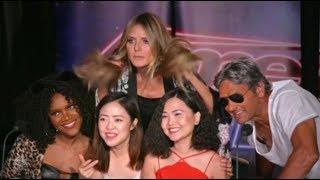 Is It Heidi? Heidi Klum PRANKS Hollywood Tourists | America's Got Talent 2018