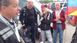 Friedensfahrt Berlin - Moskau, Tag 04: Die Fahrt durch das Baltikum nach Pskov (10.08.2016)