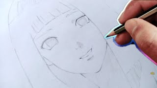 vuclip How to draw Hinata || how to draw Hinata step by step ||  artonime