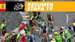 Resumen - Etapa 19 - Tour de France 2018