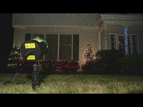 FAA asking those who own laser Christmas lights not to shine them into the air