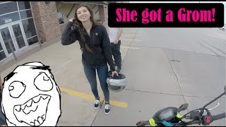 She Got a Grom!!