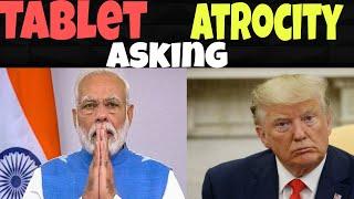 Trump vs modi | tablet asking | pothumda saamy