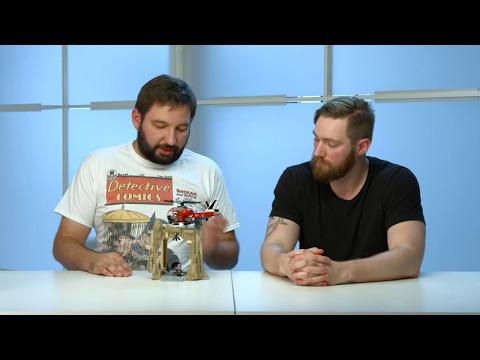 Batman Classic TV Series - LEGO DC Super Heroes - 76052 - Batcave Designer Video