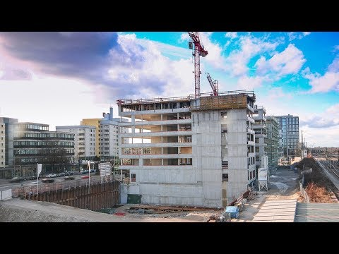 Office Building AURON - Munich |Time Lapse Documentary