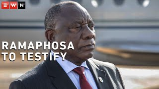 Deputy Chief Justice Raymond Zondo confirmed that President Cyril Ramaphosa would appear before the commission of inquiry into state capture in 2021. Zondo said that the commission would also hear testimony from the ANC.
