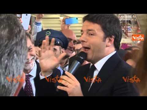 RENZI A MELFI CON JOBS ACT ITALIA RIPARTE 28-05-15