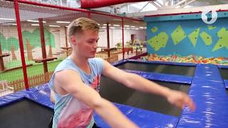 видео Прыжки на батуте польза