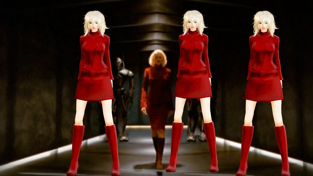 [MMD] Cylon n  Six - Are you alive outfit - Model DL link