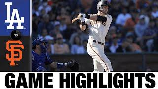 Dodgers vs. Giants Game Highlights (9/5/21)