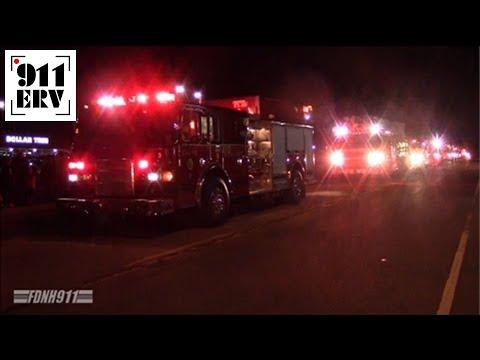 Medway, MA Fire Trucks Christmas Parade