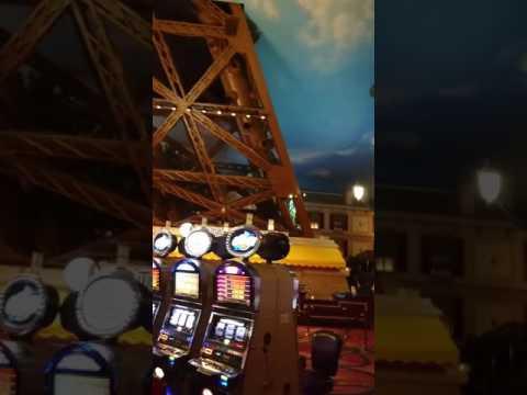 Paris Las Vegas!! casino floor