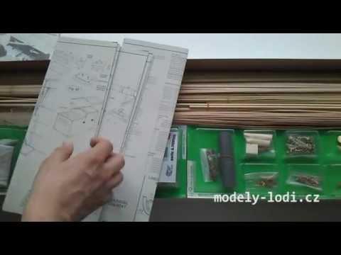 Unboxing the MM799 Amerigo Vespucci Mantua Ship Model Kit