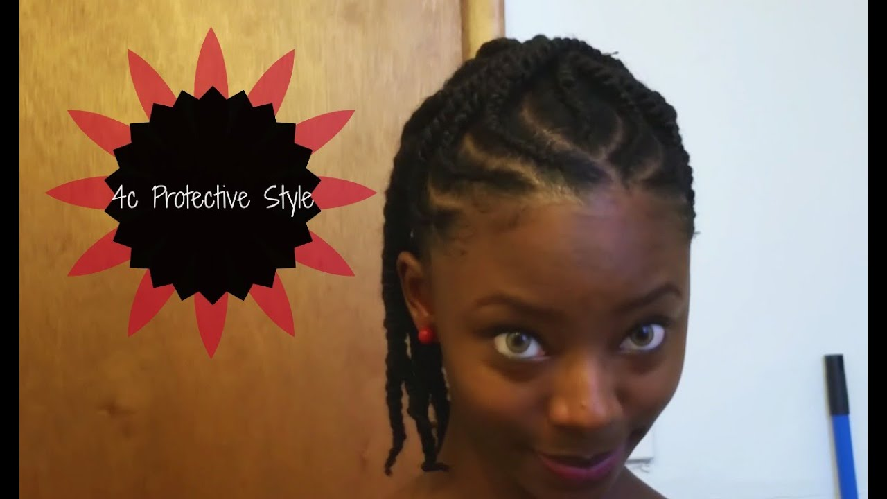4c hair protective styles braids twists protective style 4c hair 5218