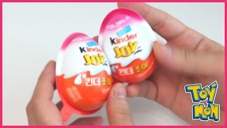 Gambar cover Two Kinder Surprise Eggs _ TOYMON