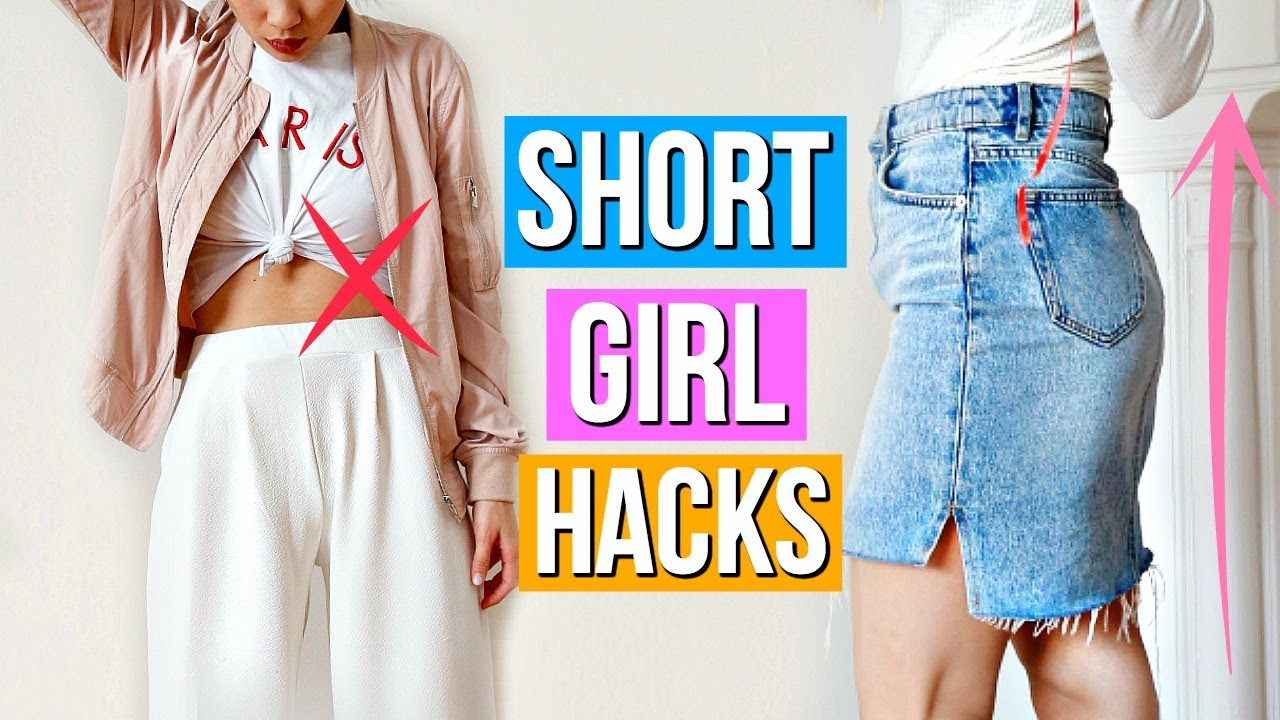 [VIDEO] - 8 Clothing Hacks EVERY Short Girl Must Know! 1