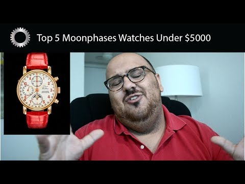 Top 5 Moonphase Watches Under $5000 - Federico Talks Watches