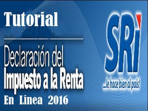 Municipalidad de guayaquil tutorial para la declaración del.