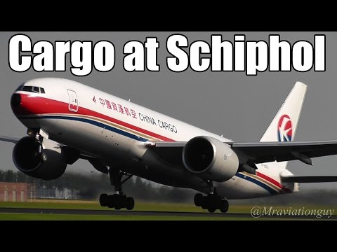 Cargo Airlines at Amsterdam Schiphol Airport | World Cargo MD11, Saudi 747, Qatar 777 & more