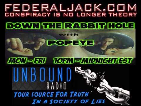 Down The Rabbit Hole w/ Popeye (05-15-2013) Whistleblower Julia Davis Exposes The DHS