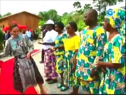Gabon Reportage / Cérémonie d'inauguration Edock City
