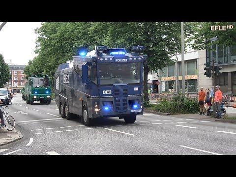Der G20 Gipfel in Hamburg wird zum Treffpunkt von rund 20.000 Einsatzkräften