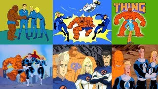 Fantastic Four - All Intros From 1967