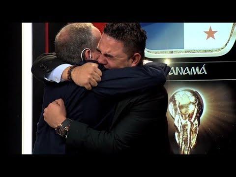 Así reaccionaron David Samudio y Miguel Remón al escuhar el Himno por primera vez en un mundial
