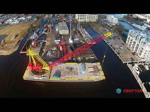 Time Lapse Assembly of 600 Ton Manitowoc 4600 S3/Ringer S2