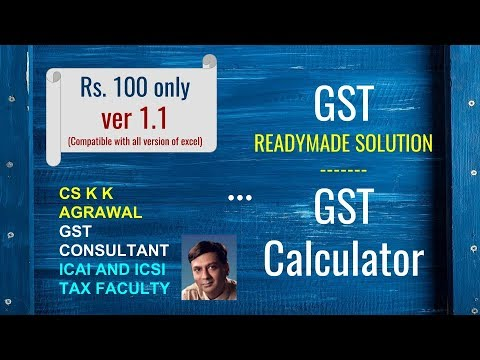 Readymade GST solution : GST Calculator and what department raises tax demand