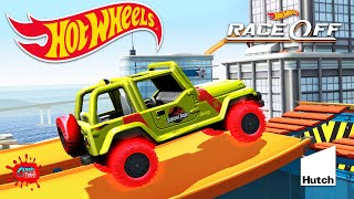 Hot Wheels Race Off - Jurassic Park Cars